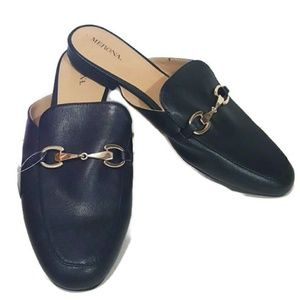 Merona Faux Leather Princetown Slide Loafers 11